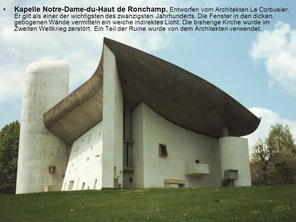Kapelle Notre-Dame-du-Haut de Ronchamp