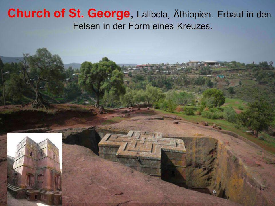 Church of St. George, Lalibela, Äthiopien
