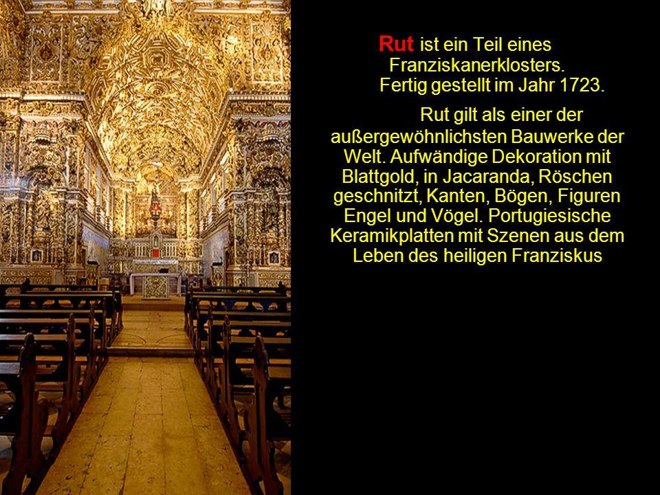 Rut ist ein Teil eines Franziskanerklosters