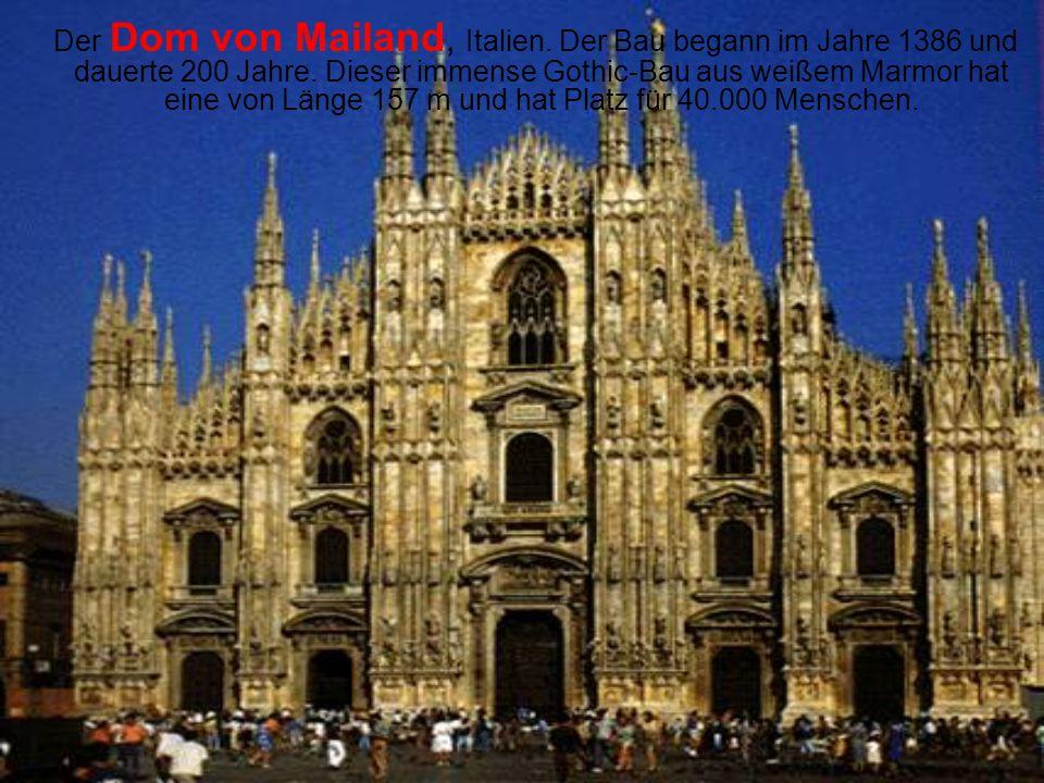 Der Dom von Mailand, Italien