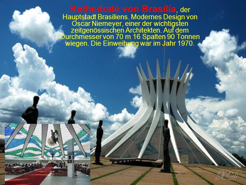 Kathedrale von Brasilia, der Hauptstadt Brasiliens