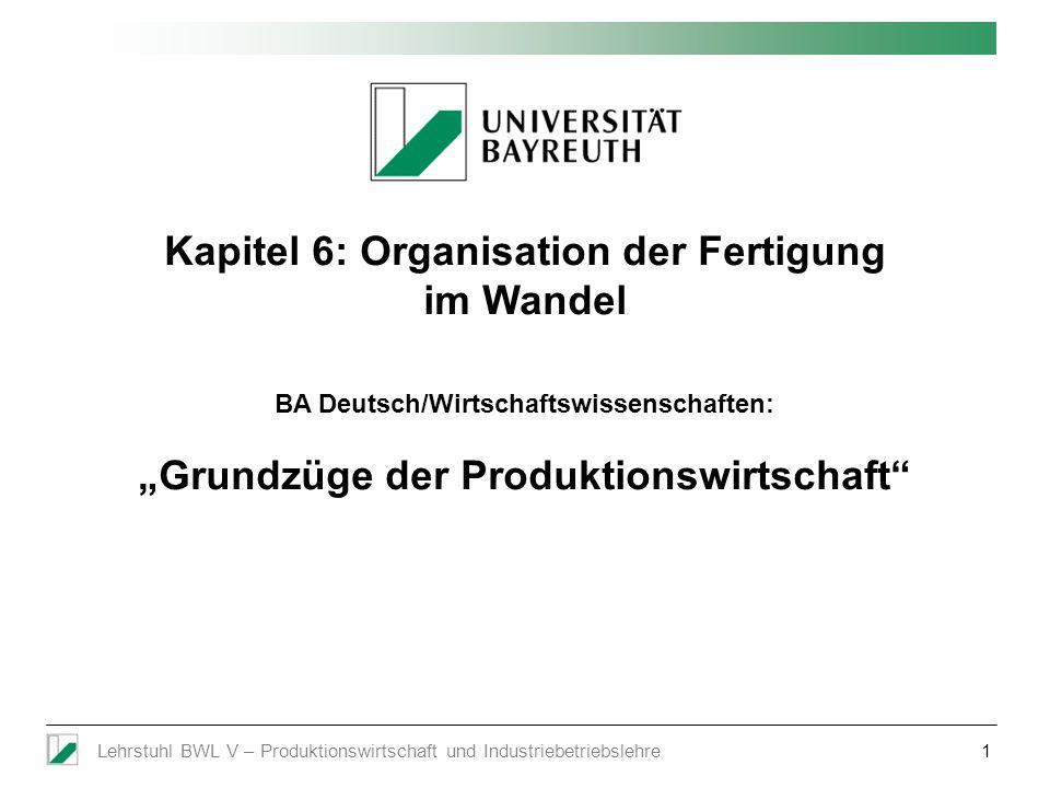 """""""Grundzüge der Produktionswirtschaft"""
