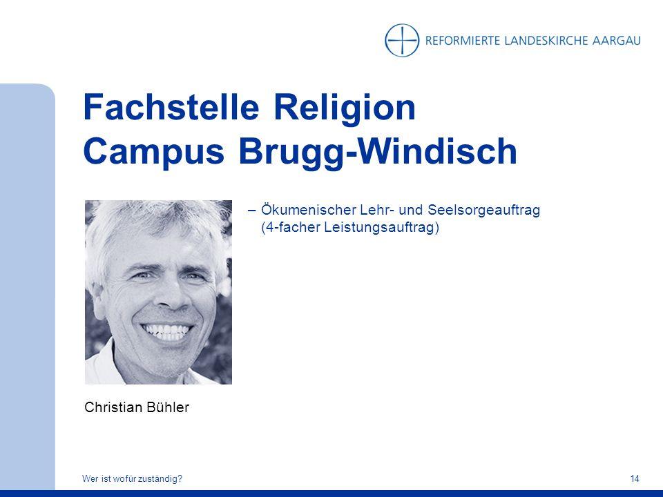 Fachstelle Religion Campus Brugg-Windisch