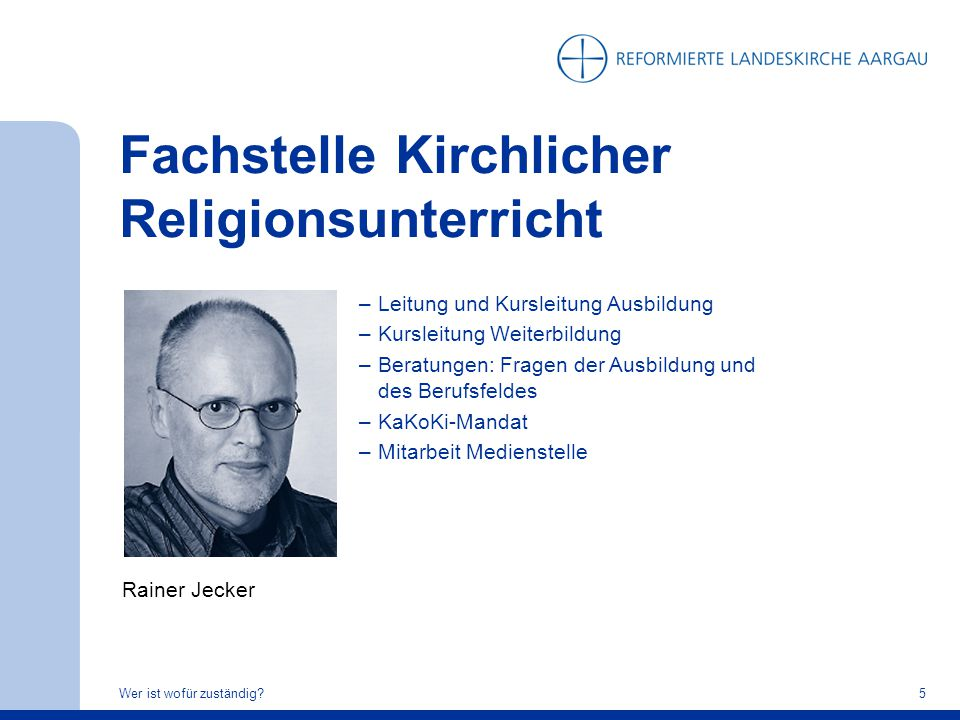 Fachstelle Kirchlicher Religionsunterricht