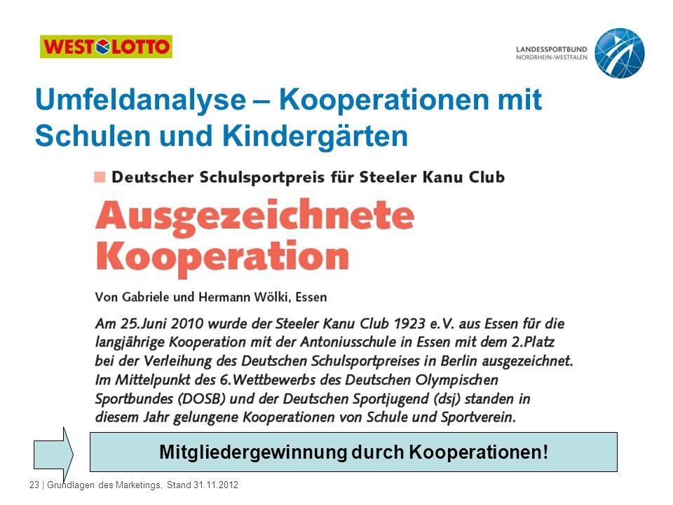 Mitgliedergewinnung durch Kooperationen!