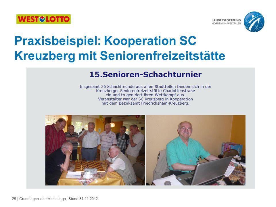 Praxisbeispiel: Kooperation SC Kreuzberg mit Seniorenfreizeitstätte