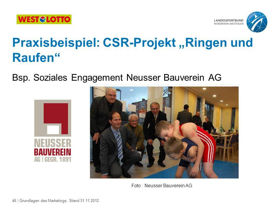 Foto : Neusser Bauverein AG