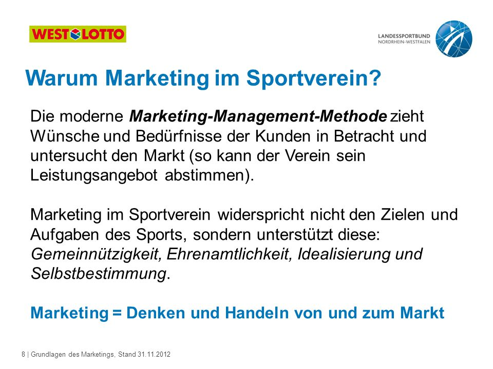 Warum Marketing im Sportverein