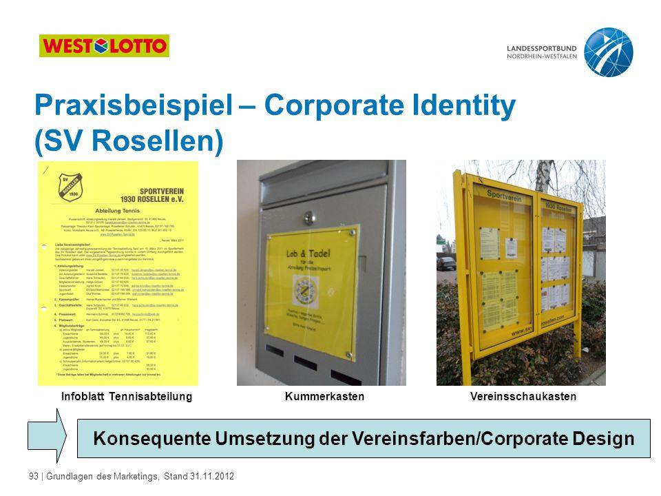 Praxisbeispiel – Corporate Identity (SV Rosellen)