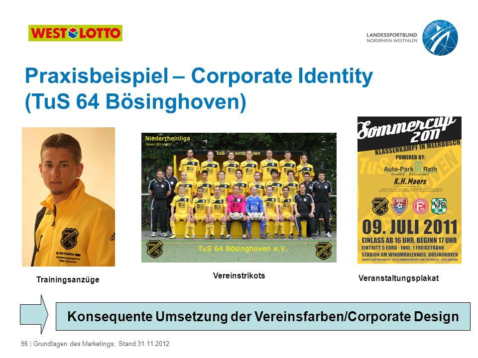 Praxisbeispiel – Corporate Identity (TuS 64 Bösinghoven)