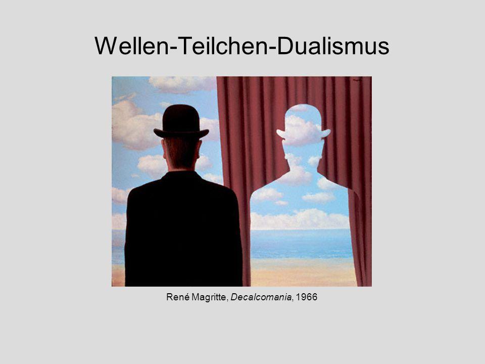 Wellen-Teilchen-Dualismus