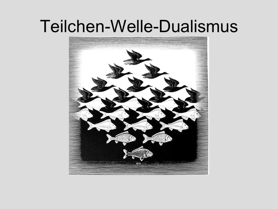 Teilchen-Welle-Dualismus