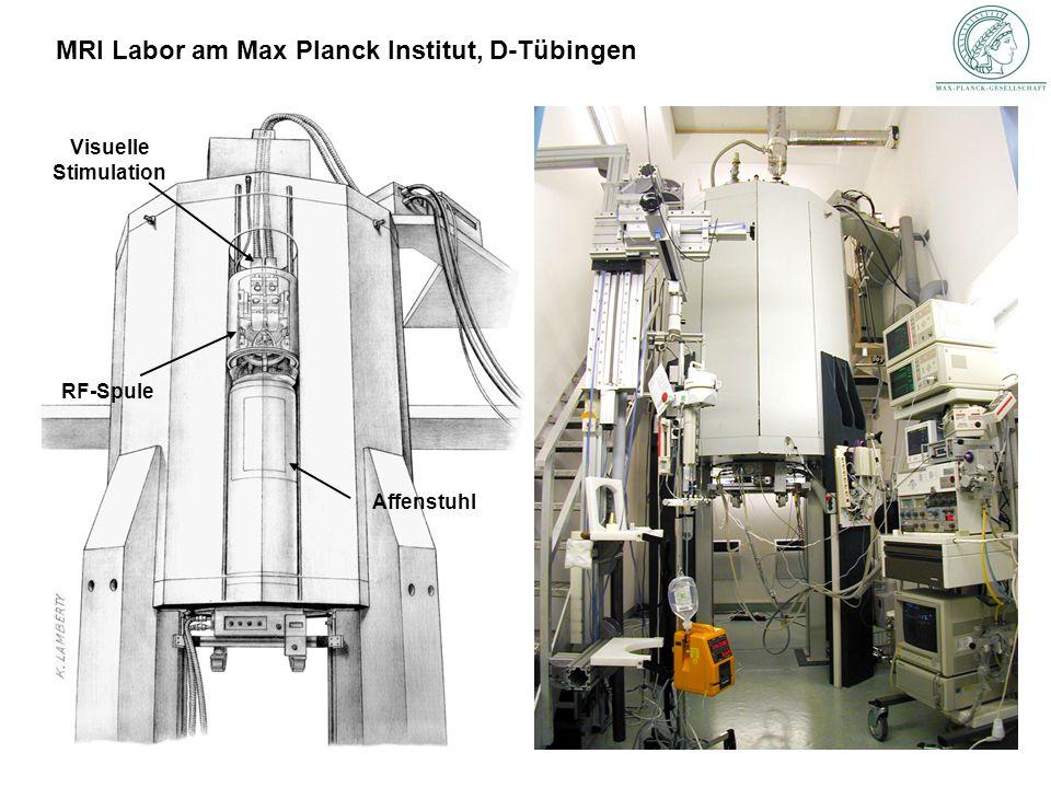 MRI Labor am Max Planck Institut, D-Tübingen