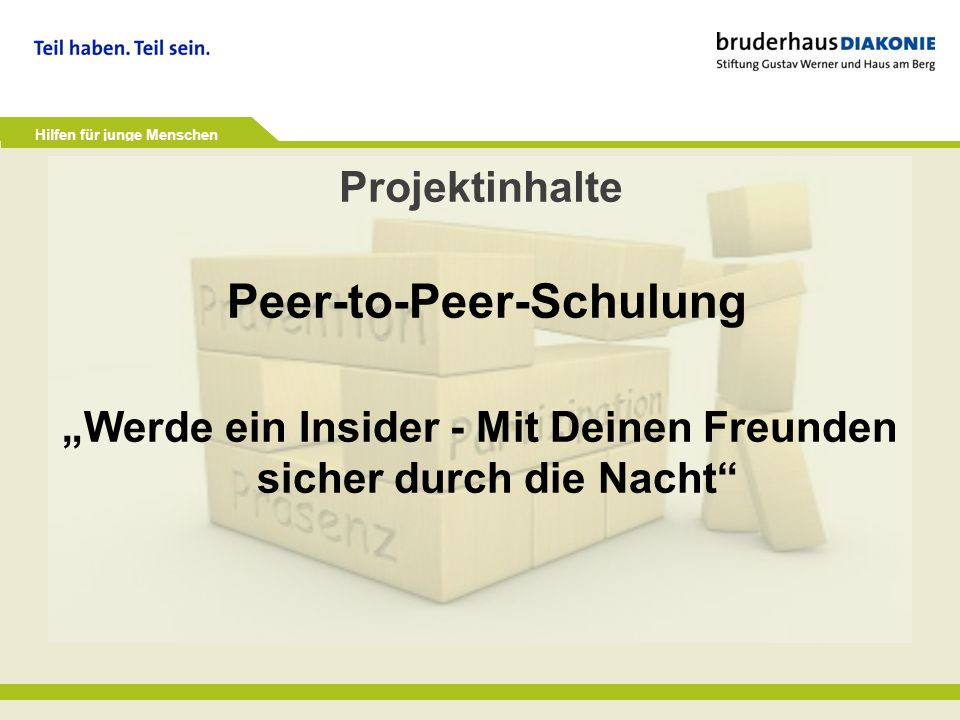 Peer-to-Peer-Schulung