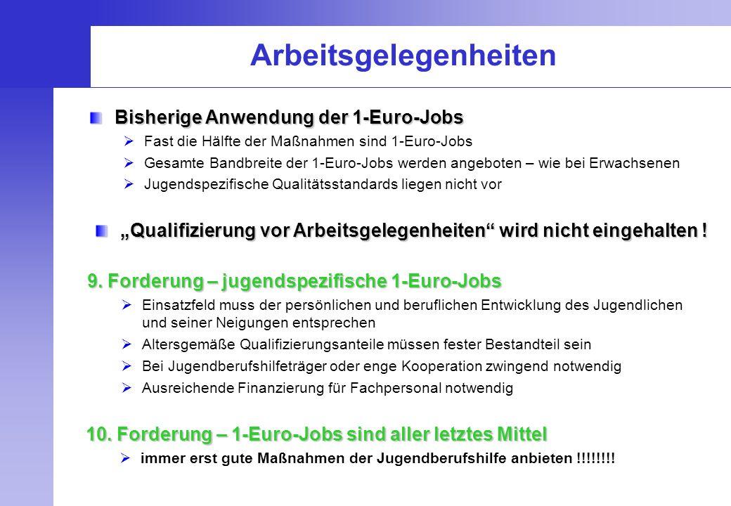 Arbeitsgelegenheiten