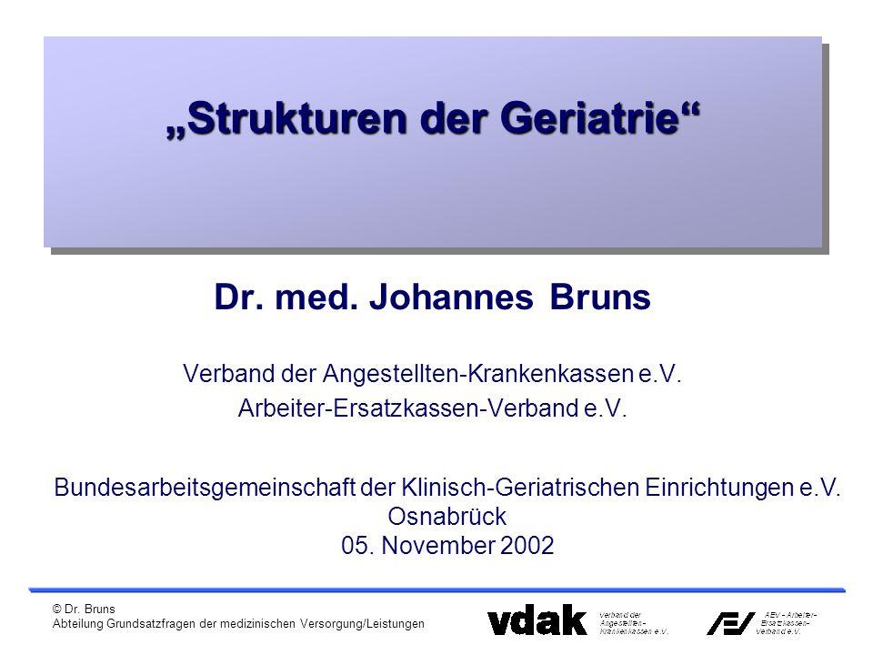 """""""Strukturen der Geriatrie"""