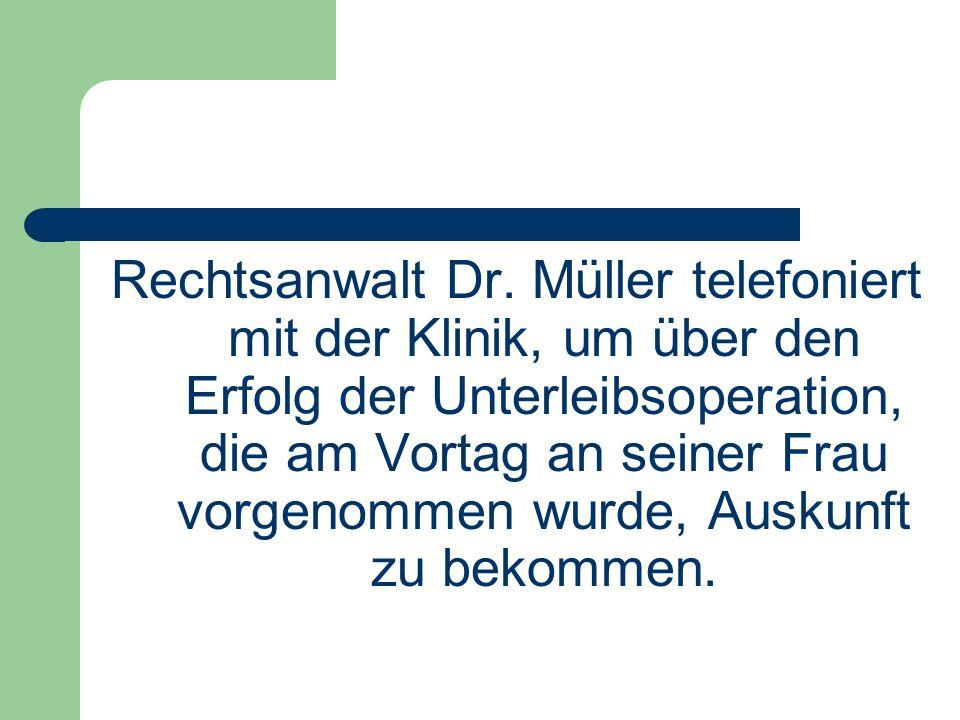 Rechtsanwalt Dr.
