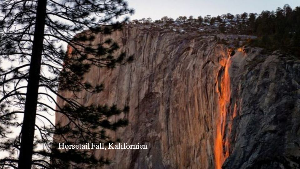 Horsetail Fall, Kalifornien