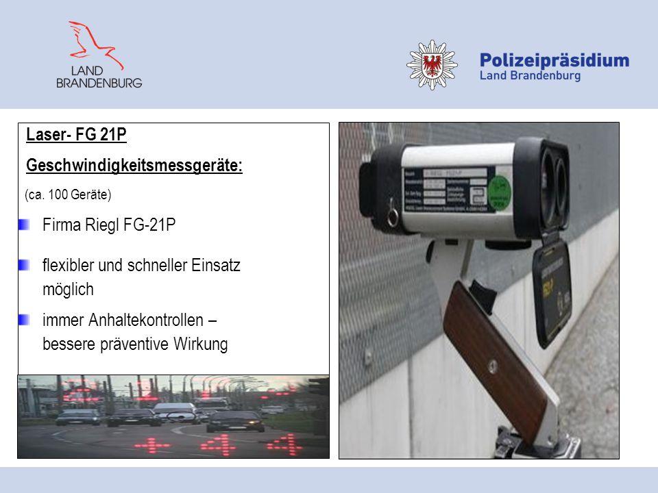 Geschwindigkeitsmessgeräte: