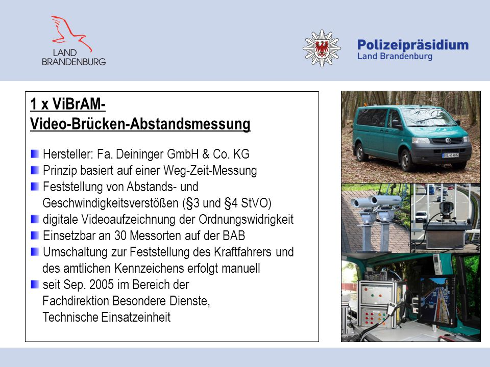 Video-Brücken-Abstandsmessung