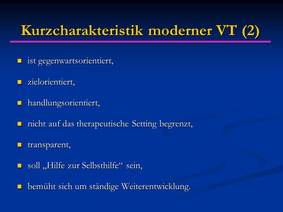Kurzcharakteristik moderner VT (2)