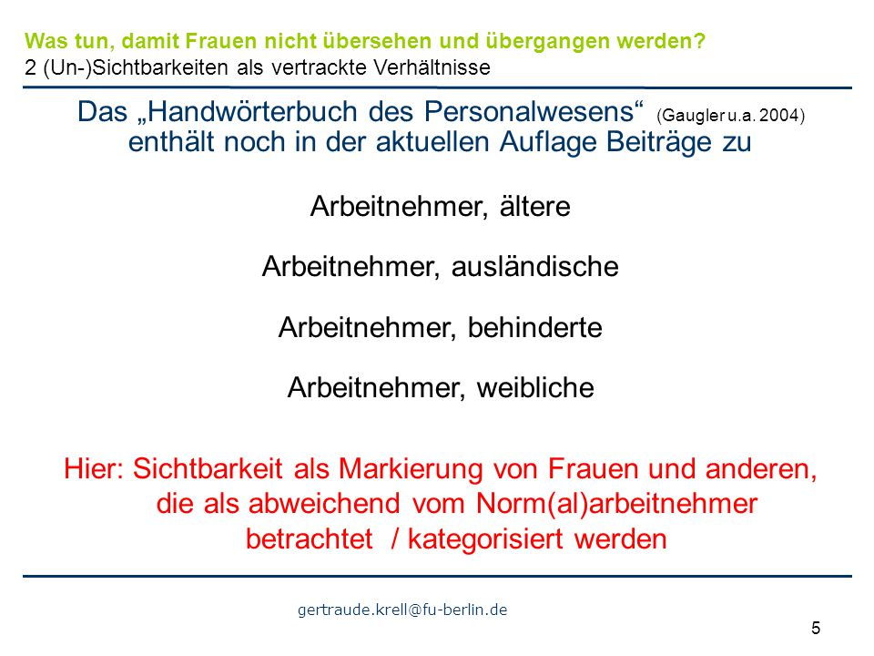 "Das ""Handwörterbuch des Personalwesens (Gaugler u.a. 2004)"