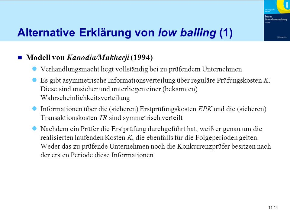 Alternative Erklärung von low balling (1)