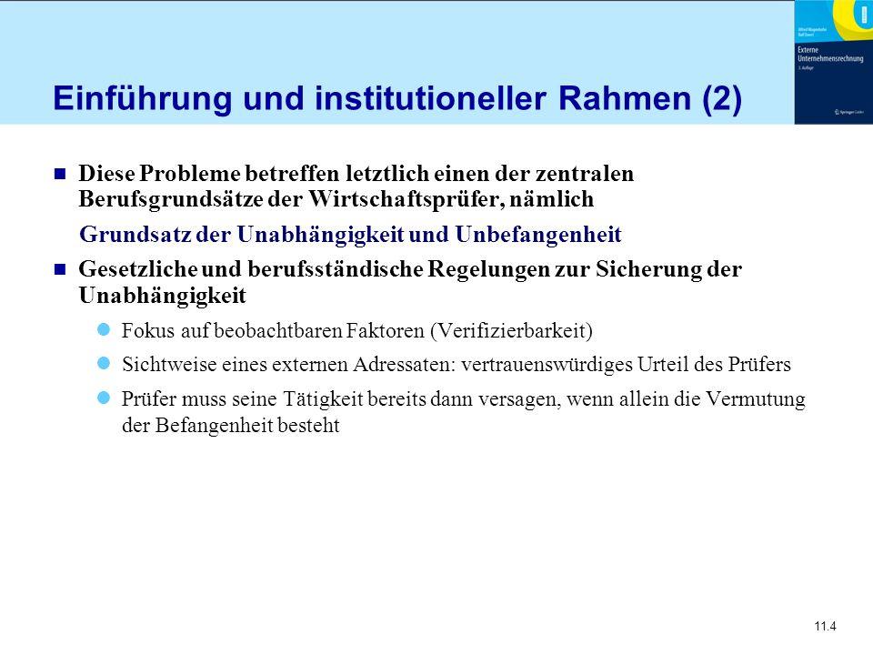 Einführung und institutioneller Rahmen (2)