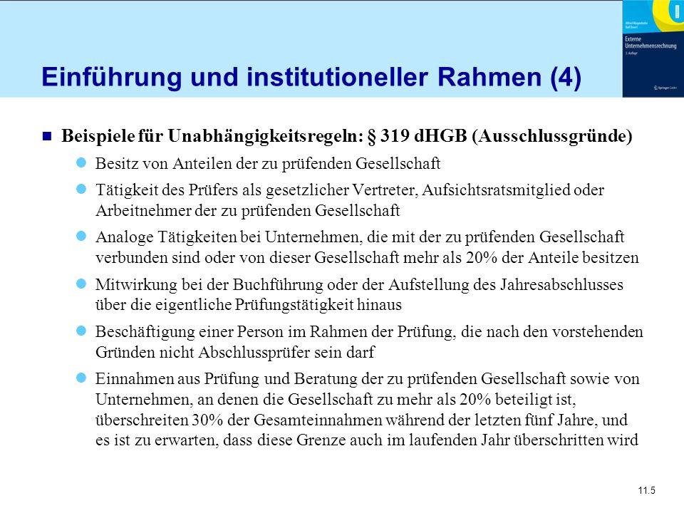 Einführung und institutioneller Rahmen (4)