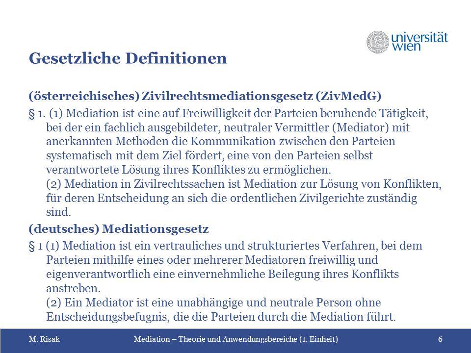 Gesetzliche Definitionen