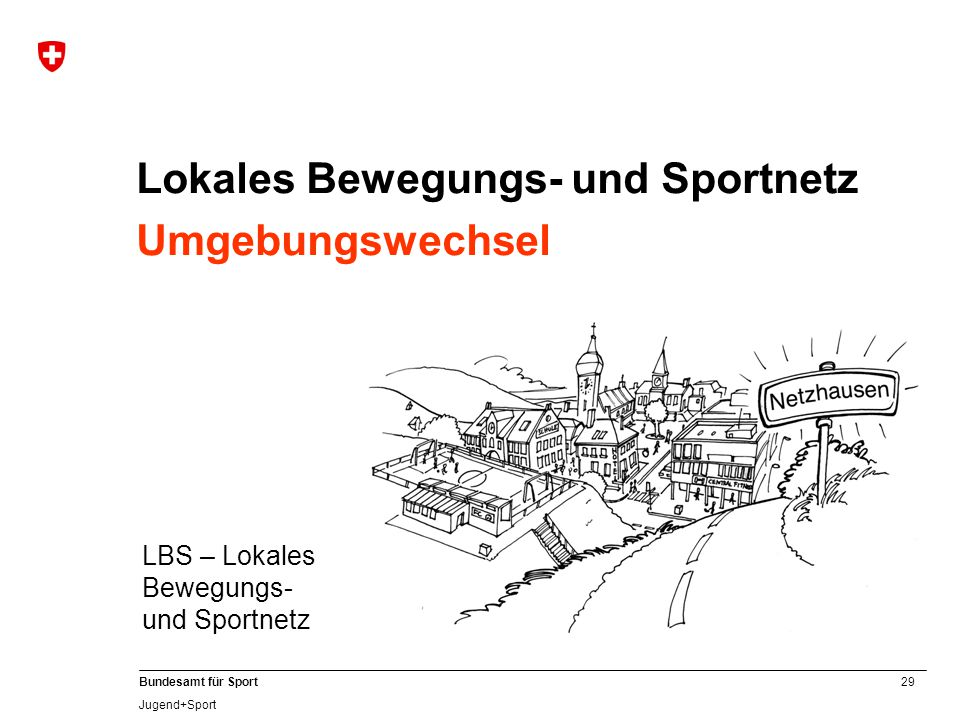Lokales Bewegungs- und Sportnetz Umgebungswechsel