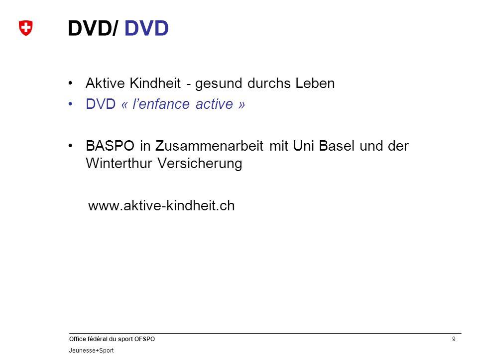 DVD/ DVD Aktive Kindheit - gesund durchs Leben