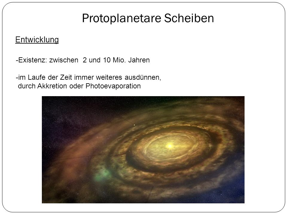 Protoplanetare Scheiben