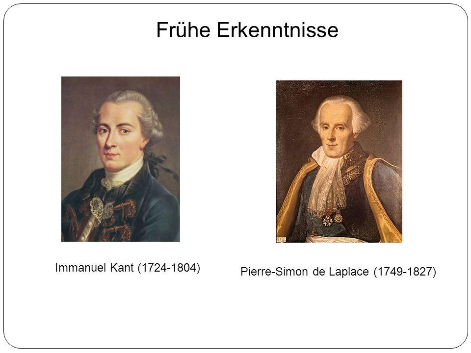 Frühe Erkenntnisse Immanuel Kant (1724-1804)