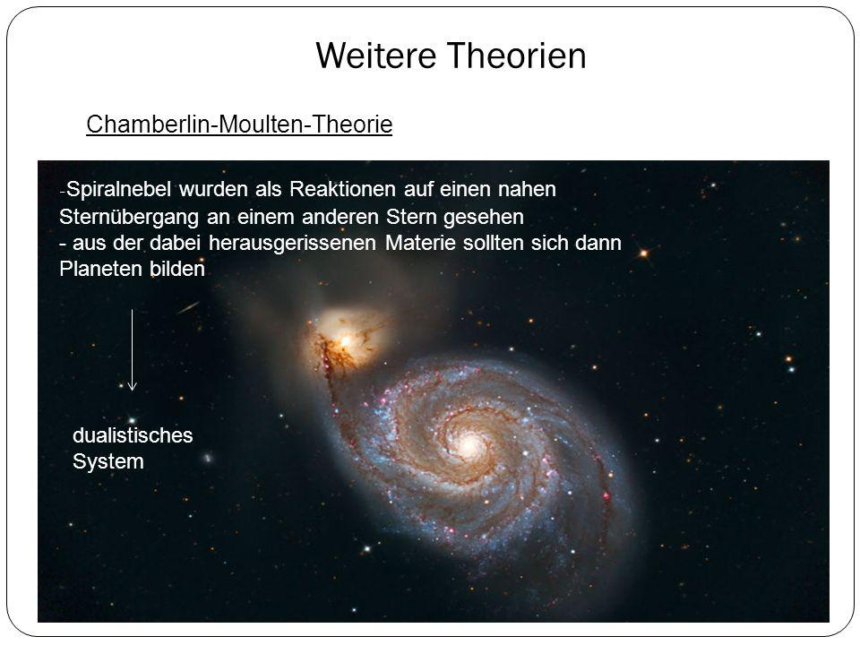 Weitere Theorien Chamberlin-Moulten-Theorie