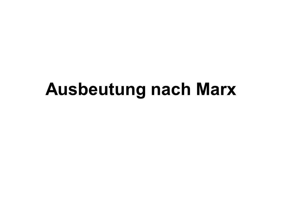 Ausbeutung nach Marx Wer glaub noch zu wissen was ein sozial unternehmen ist