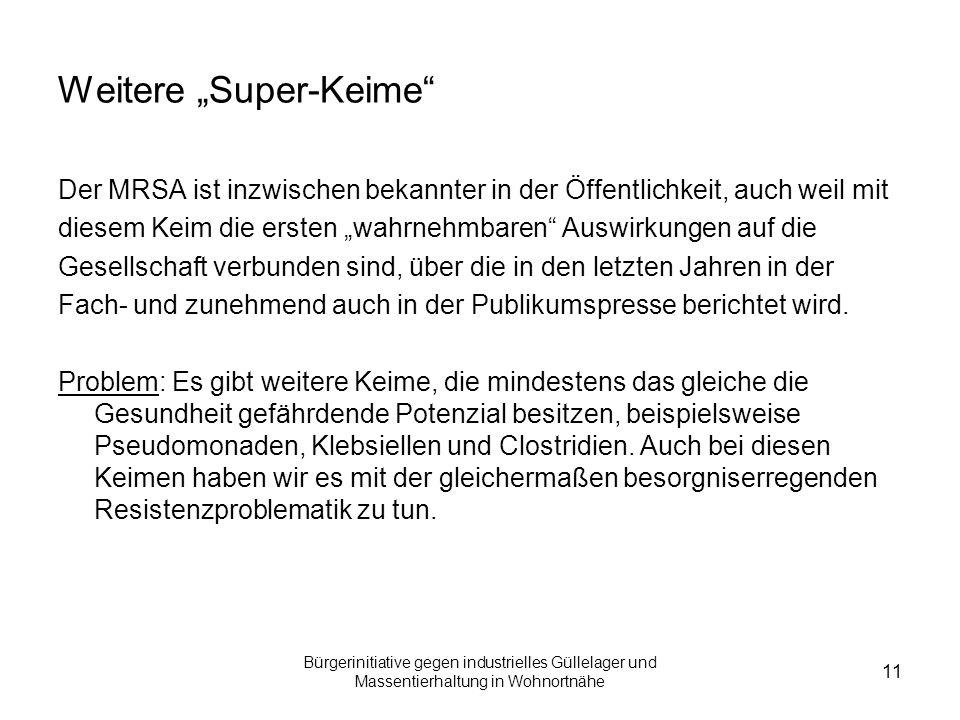 """Weitere """"Super-Keime"""