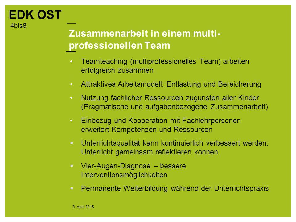 Zusammenarbeit in einem multi-professionellen Team