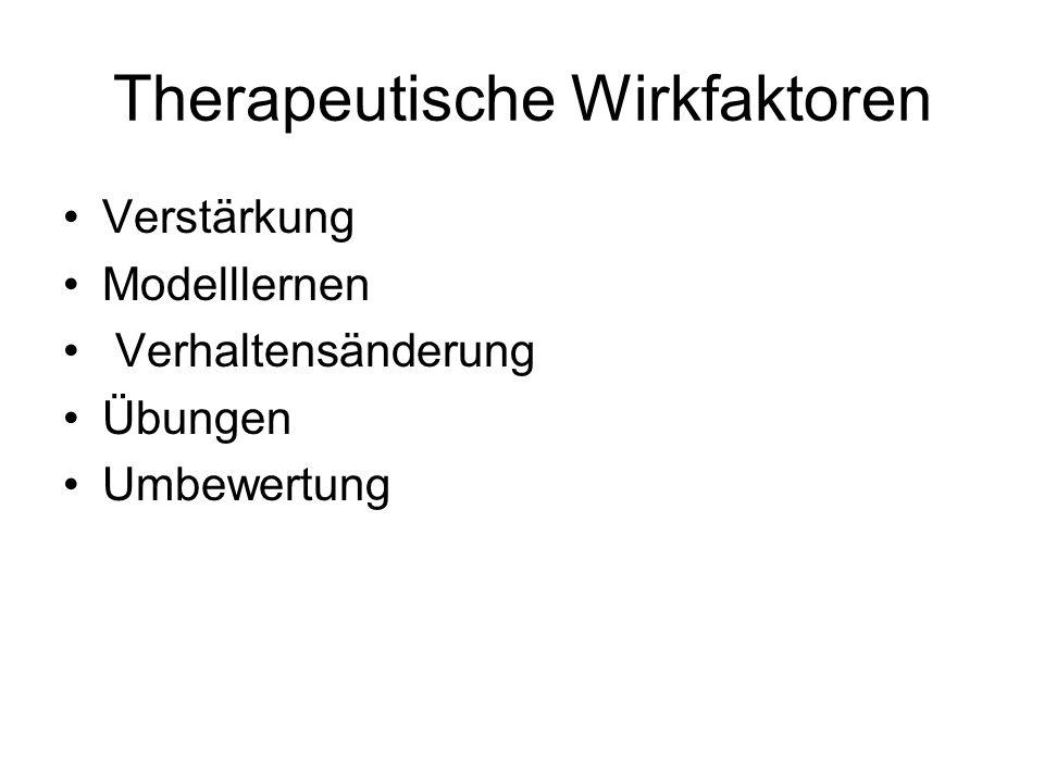 Therapeutische Wirkfaktoren