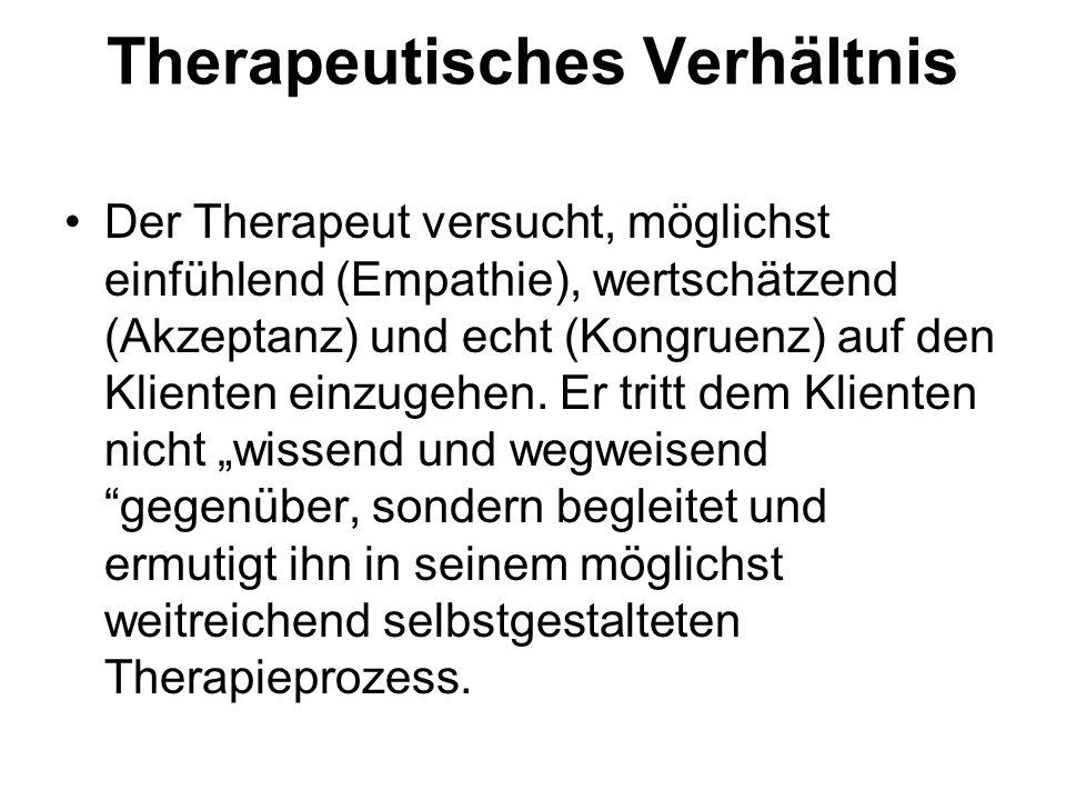Therapeutisches Verhältnis