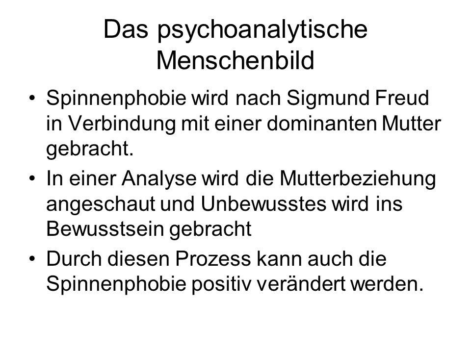 Das psychoanalytische Menschenbild