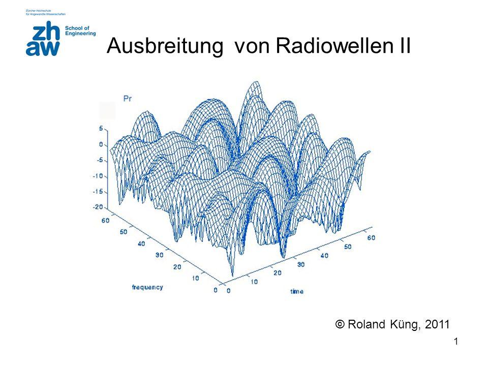 Ausbreitung von Radiowellen II