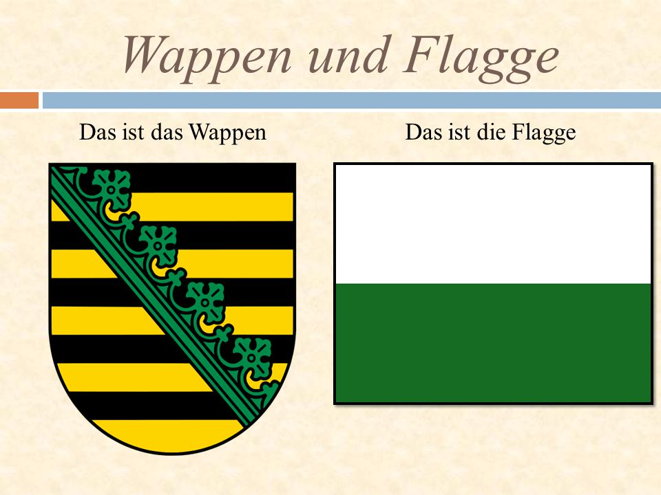 Wappen und Flagge Das ist das Wappen Das ist die Flagge