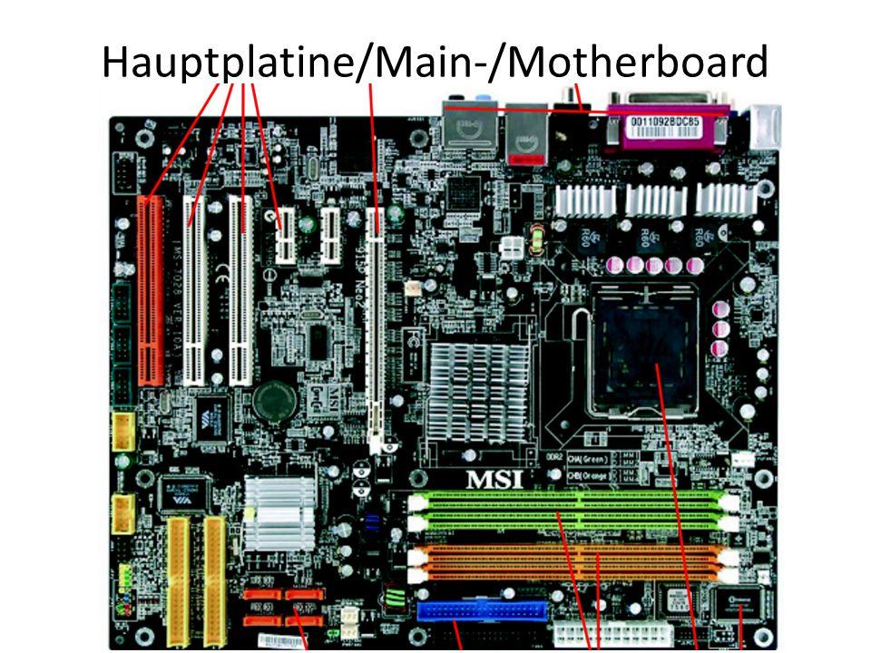 Hauptplatine/Main-/Motherboard