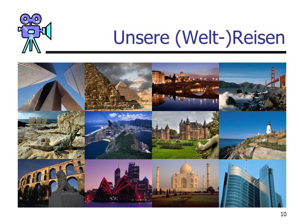 Unsere (Welt-)Reisen