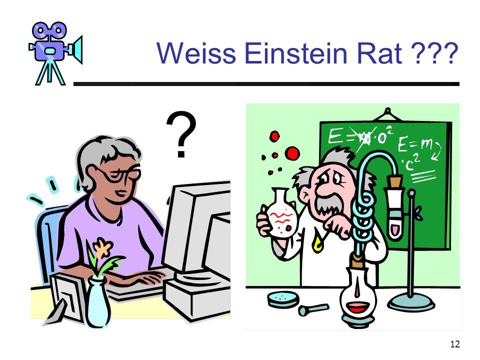 Video bearbeiten am PC Weiss Einstein Rat