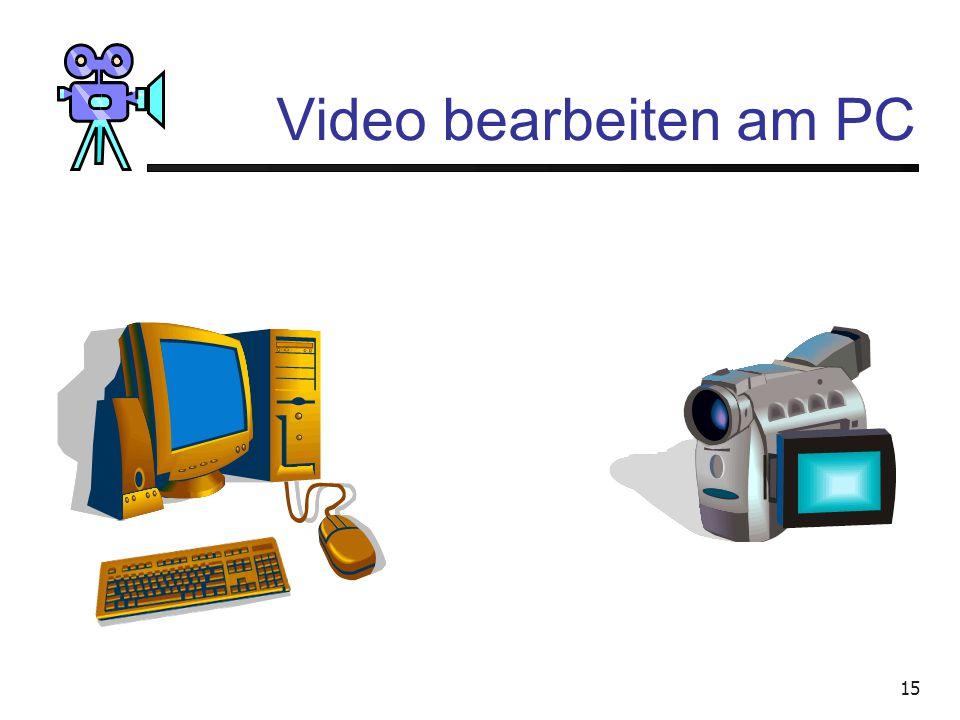 Video bearbeiten am PC