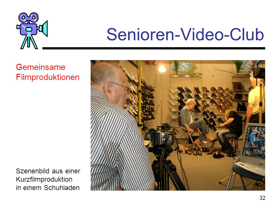 Senioren-Video-Club Gemeinsame Filmproduktionen