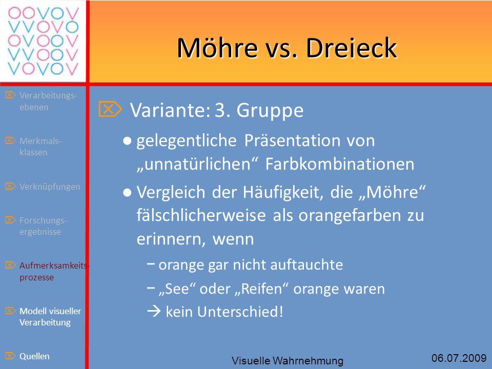 Möhre vs. Dreieck Variante: 3. Gruppe