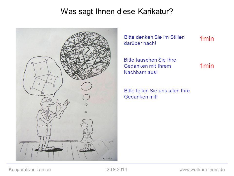 Was sagt Ihnen diese Karikatur
